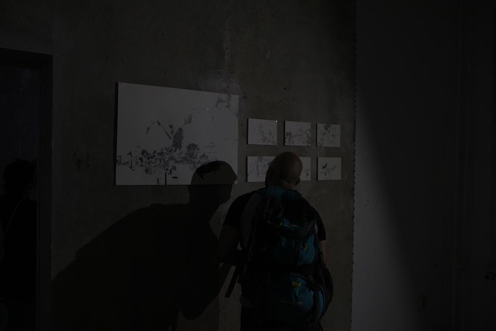 """""""Rezyklat"""", Zeichnungen von Paula Grosse"""