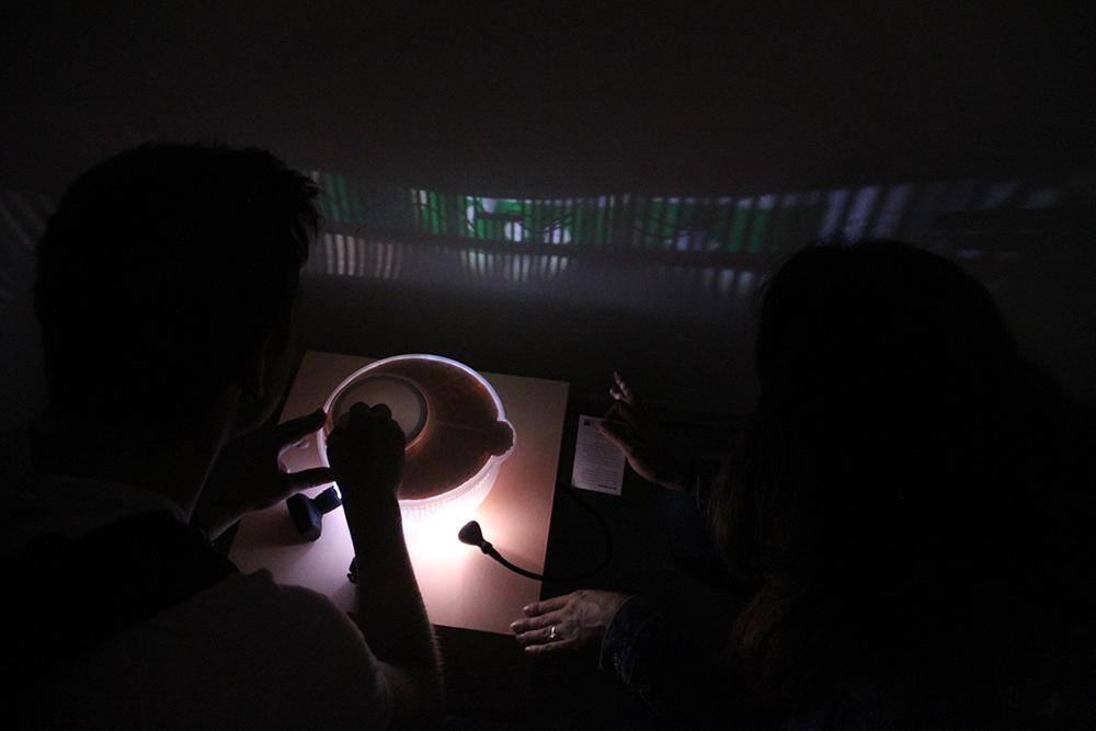 """""""Wunderkammer"""", Filmmaschinen von Miriam Sommer, Marcus Pape, Charlotte Ehrt und Lea Marie Köhler"""