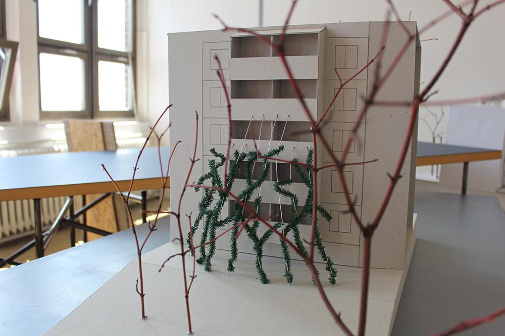 """Das Modell zum Entwurf """"Phönix"""" von Philipp Keidler"""