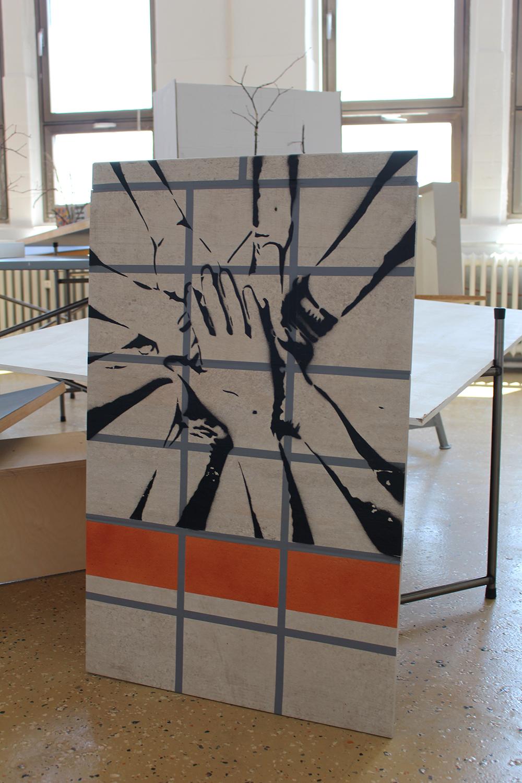 """Der Entwurf """"Nur zusammen"""" von Marcus Pape"""