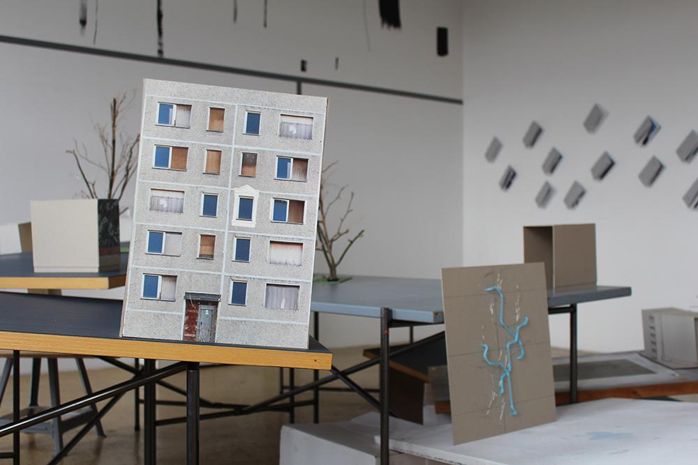 """Der Entwurf """"Aufgestuckt II"""" von Lina Zacher und Carolin Breme, alle Fotos: Nadja Kuras"""